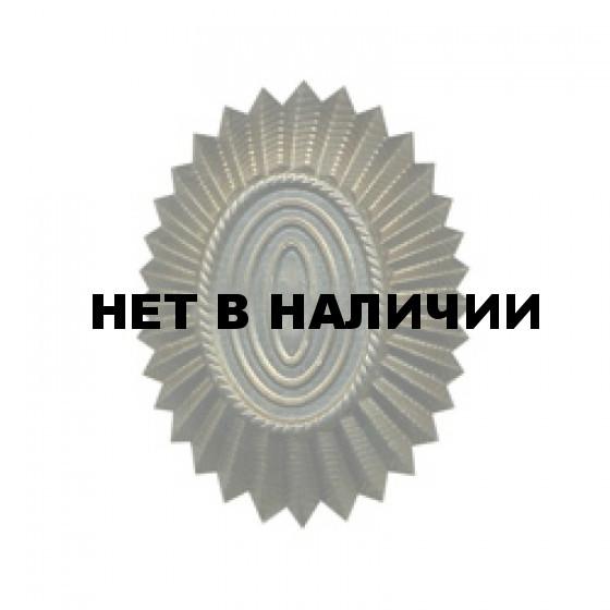 Кокарда ВС на пилотку нового образца полевая металл