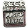 Нагрудный знак СССР Мастер спорта металл
