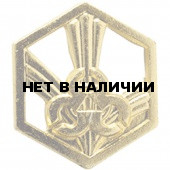 Эмблема петличная РХБЗ нового образца повседневная металл