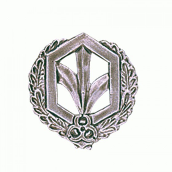 Эмблема петличная РХБЗ полевая металл