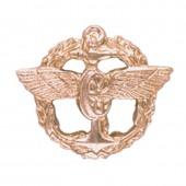 Эмблема петличная Служба военных сообщений повседневная металл