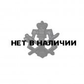 Эмблема петличная УИС черная металл