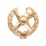 Эмблема петличная Военнотопографическая служба повседневная металл