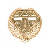 Эмблема петличная Дорожные войска повседневная металл