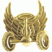 Эмблема петличная Автомобильные войска нового образца повседневная металл