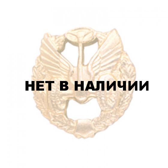 Эмблема петличная Автомобильные войска повседневная металл