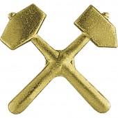 Эмблема петличная Горные спасатели металл