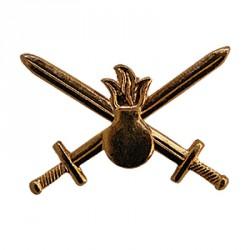Эмблема петличная Сухопутные войска нового образца повседневная металл
