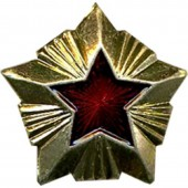 Знак различия Звезда Таможня большая металл