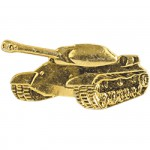 Эмблема петличная Танковые войска нового образца повседневная металл