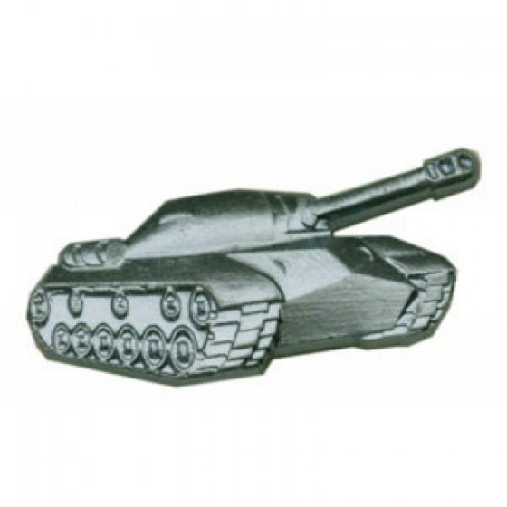 Эмблема петличная Танковые войска нового образца полевая металл