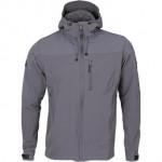 Куртка Barrier Primaloft серая с капюшоном