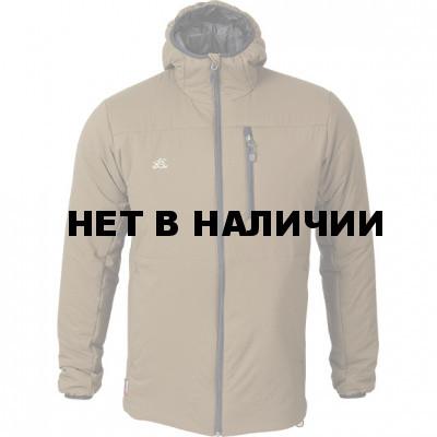 Куртка Barrier Primaloft tobacco с капюшоном