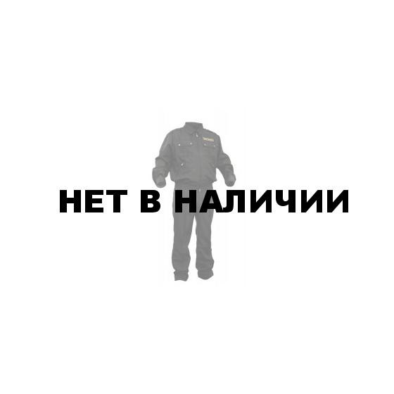 Костюм летний ГЕФЕСТ черный, ткань Габардин