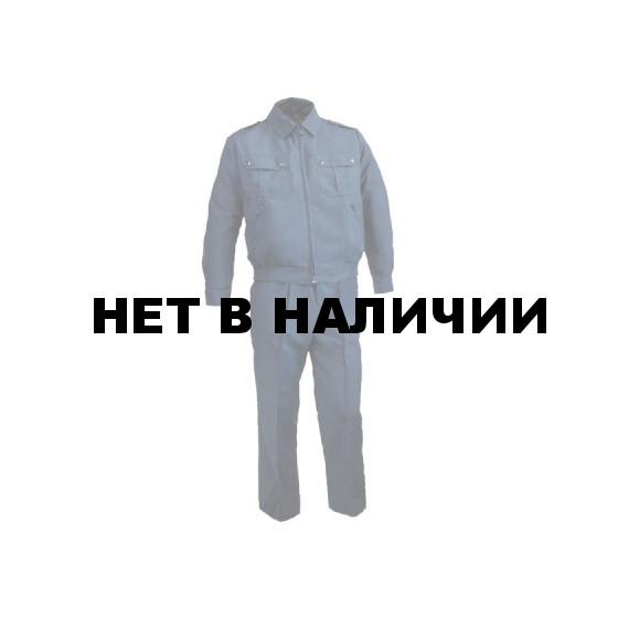 Костюм летний ГЕФЕСТ синий, ткань Габардин