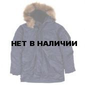 Куртка N-3B Parka Replica Blue Alpha Industries