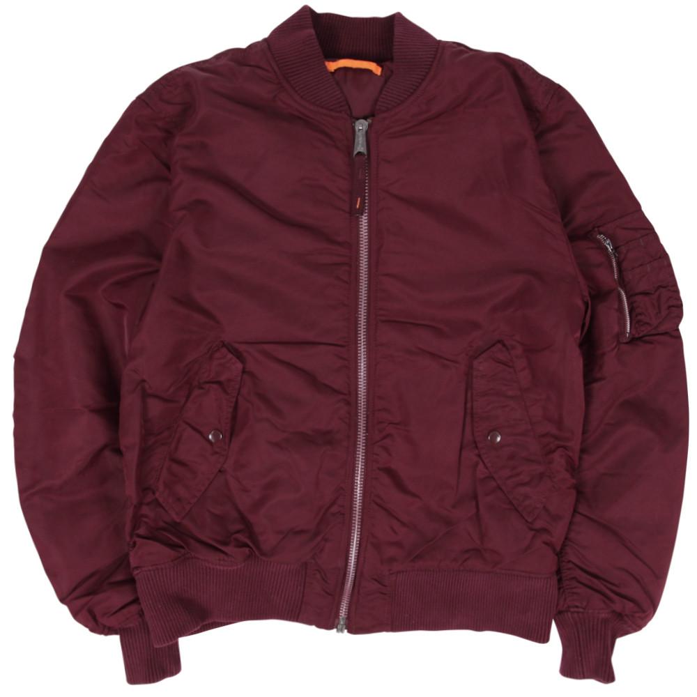 Куртка Ma-1 Maroon Alpha Industries L 12cfa3fe32227