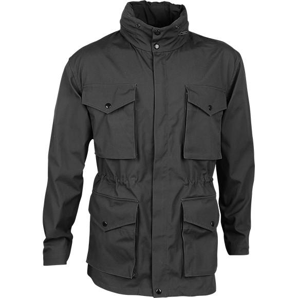 Куртка Следопыт брезент черный e405c523647ac