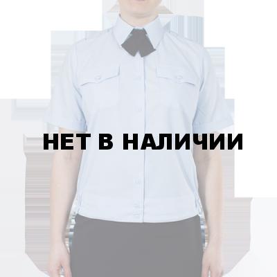 43dbb71e69c0 Блуза ПОЛИЦИЯ женская светло-голубая с коротким рукавом на резинке ...