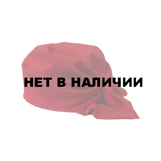 Бандана красная