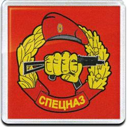 Магнит 52м Спецназ сувенирный