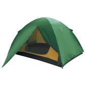 Лёгкая трехместная туристическая палатка Alexika Scout 3 зеленый
