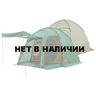 Трехместная кемпинговая палатка купольного типа с алюминиевыми дугами Alexika Minnesota 3 Luxe Alu зеленый