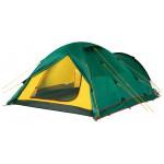 Четырехместная туристическая палатка для путешествий с велосипедами или большим багажом Alexika Tower 4 Plus зеленый