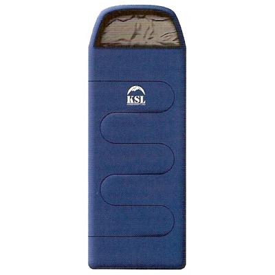 Классический кемпинговый спальный мешок-одеяло с капюшоном KSL Camping Plus 6252.0105