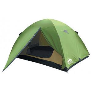 Трехместная туристическая палатка KSL Spark 3 зеленый
