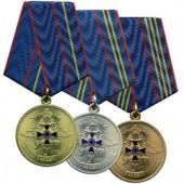 Медаль 85 лет Службе УУМ 3 степени металл