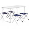 Набор мебели (СТАЛЬ), стол + 4 табурета (21407+21124) Helios