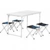 Набор мебели (АЛЮМ), стол+4табурета (21407+21124) SHARK NISUS