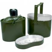 Набор посуды армейский котелок+фляжка Helios