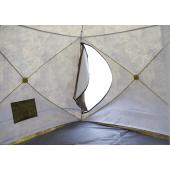 Палатка зимняя КУБ-4 Т трехслойная камуфляж СТЭК