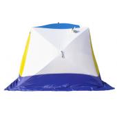 Палатка зимняя КУБ-4 Т трехслойная дышащая СТЭК