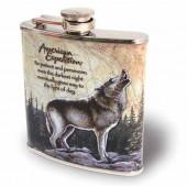 Фляжка Волк А01-1 210 мл.Тонар