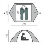 Палатка Solid 2+ BTrace
