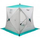Палатка зимняя Куб 1,5х1,5 biruza/gray PREMIER