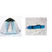 Палатка зимняя Классика (1-местная) алюминиевая звезда СТЭК