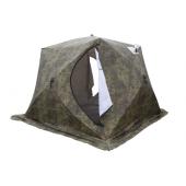 Палатка зимняя КУБ-3 Т трехслойная камуфляж СТЭК