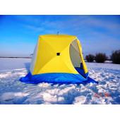 Палатка зимняя КУБ-2 трехслойная (дышащий верх) СТЭК