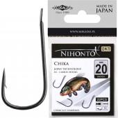 Крючки Mikado NIHONTO - CHIKA № 12 BN (с лопаткой) 21 шт.