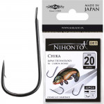 Крючки Mikado NIHONTO - CHIKA № 15 BN (с лопаткой) 21 шт.