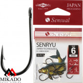 Крючки Mikado SENSUAL - SENRYU № 14 BN (с ушком) 10 шт.