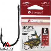Крючки Mikado SENSUAL - SENRYU № 8 BN (с ушком) 10 шт.