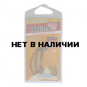 Крючок офсетный B-91 №02 цвет BC (5шт) Helios