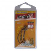 Крючок офсетный B-91 №1 цвет BC (5шт) Helios