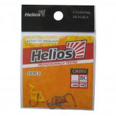 Крючок Chinu с кольцом №2 цвет BC (10шт) Helios