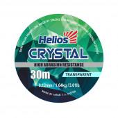 Леска Helios CRYSTAL Nylon Transparent 0,12 мм/30